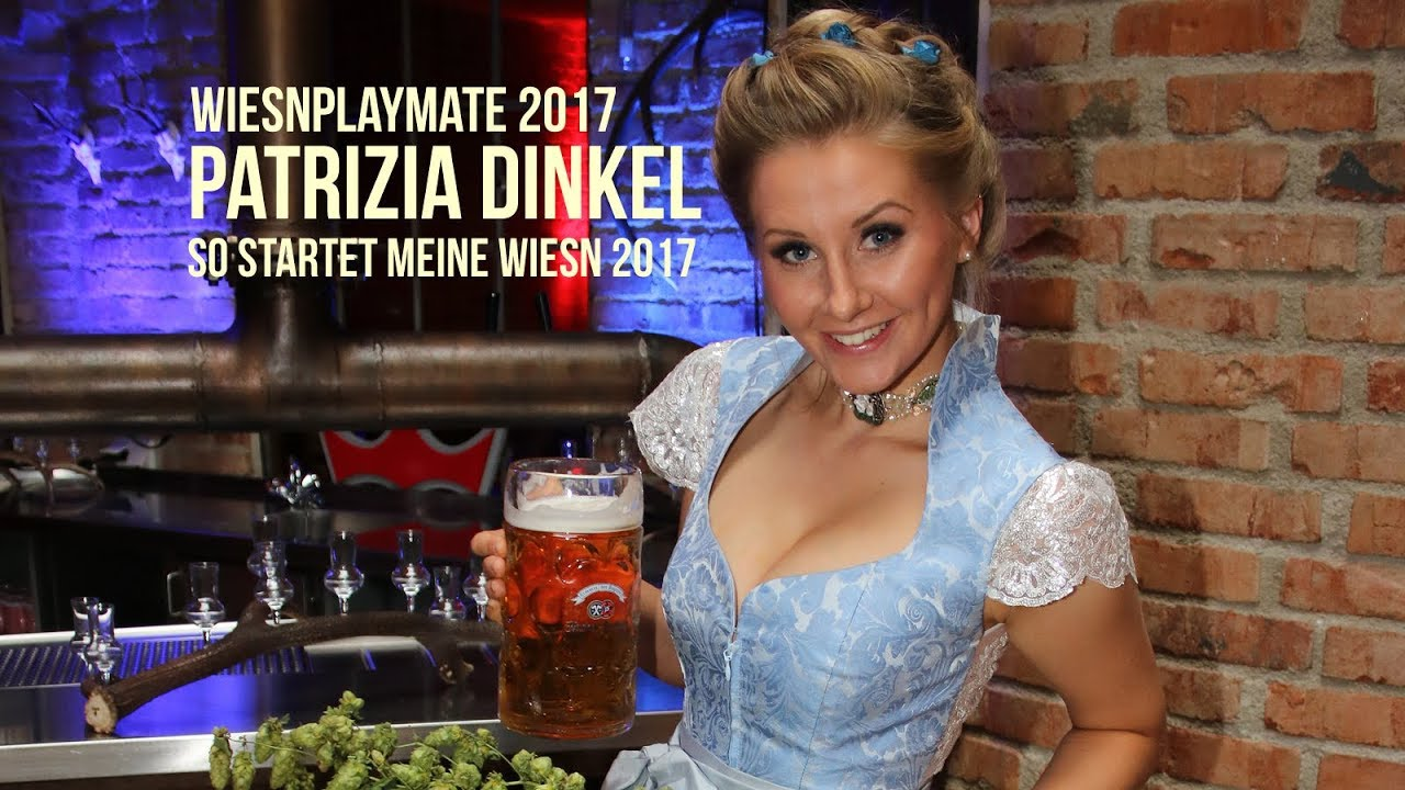 Wiesnplaymate 2017 Patrizia Dinkel: so startet meine Wiesn