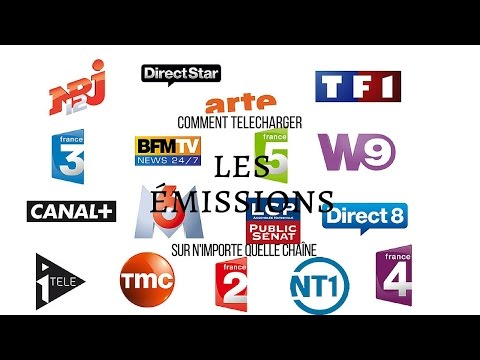Comment télécharger une vidéo en  replay (pluzz tv, my TF1, M6 ,W9, D8 etc...)