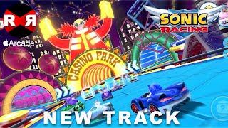Sonic Racing - CASINO PARK: ACES HIGHWAY NEW TRACK UPDATE - iOS (Apple Arcade) Gameplay