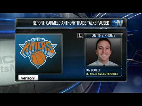 Report: New York Knicks have paused Carmelo Anthony trade talks