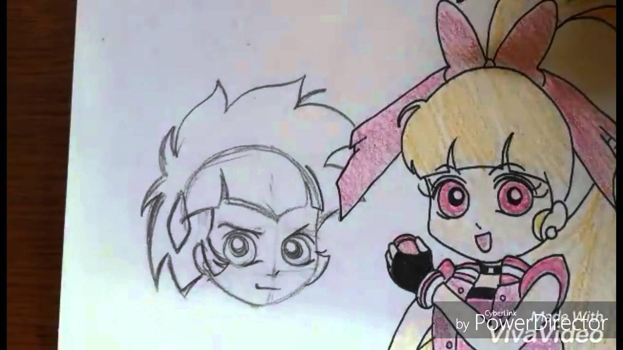 how to draw powerpuff girl z