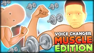 BABY AND DADDY MEGA MUSICLE TRAINING w/ VOICE CHANGER | WHO'S YOUR DADDY FUNNY MOMENTS #11