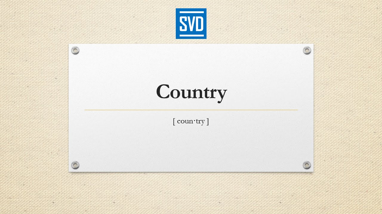 definition of country meaning pronunciation origin