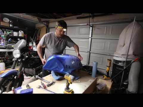 BMW K100 Motorcycle - Fuel hoses, pump grommet and more rebuild