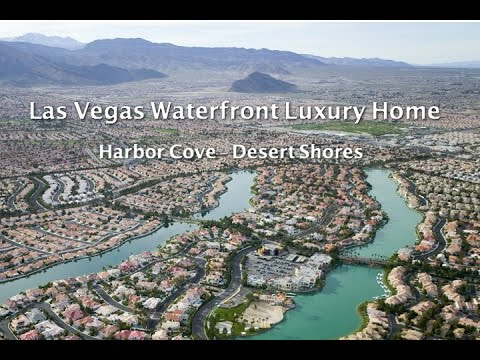 Arial Video - Las Vegas Waterfront Luxury Home