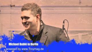 Michael Bublé Konzert auf Berliner Weihnachtsmarkt