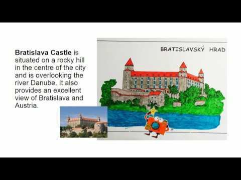 Slovakia - travelling comics