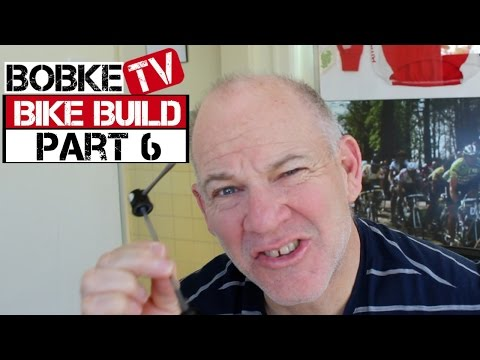 Building A Bike With Bob Roll Part 6 - Quick Release Skewer