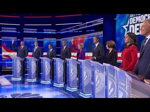 Democrats clash over eliminating private health insurance at first debate