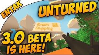 Unturned 3.0 ➤ ITS HERE! 3.0 Beta Test Map - First Look with AR 32 - NEW GUN!