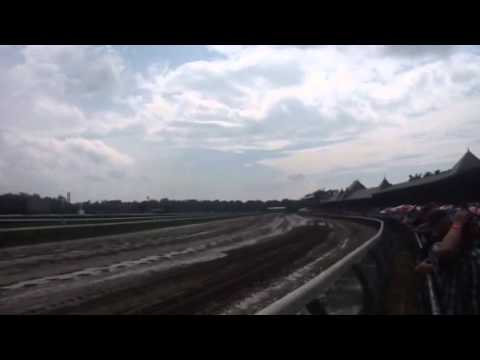 Top of the Stretch at Saratoga