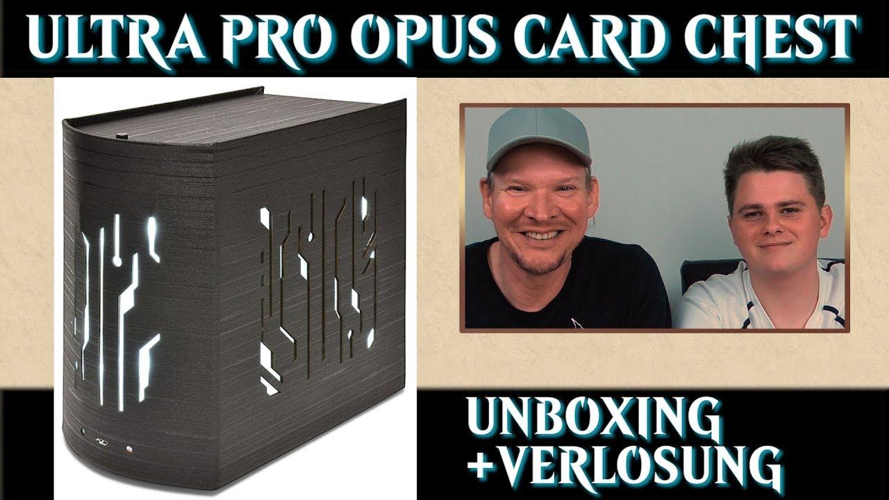 Ultra Pro Opus Illuminated Card Chest Magic The Gathering Zubehor Yugioh Supplies Mtg Trader