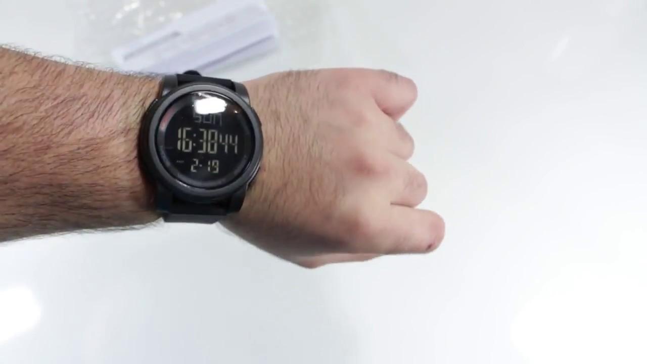 65d0ab70291c SKMEI Reloj Digital de Pulsera Sumergible 50M Unboxing - YouTube