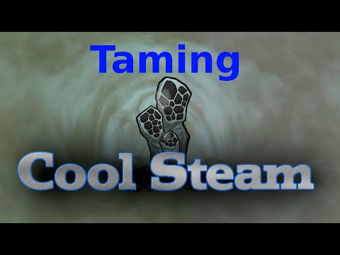 A Cool Steam Vent Tamer For Your Mid-game Base In Oxygen Not Included.