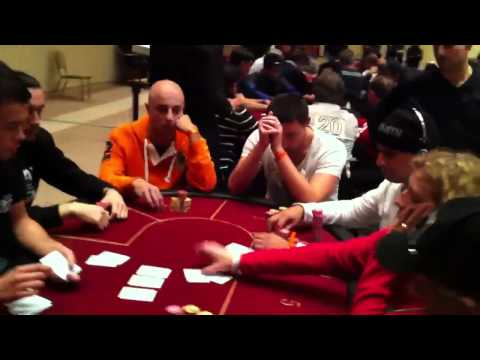 Laurence Marseille Hold'em -  Royal Casino - 15 janvier 2011 - HD