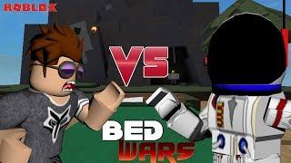 ROBLOX - BED WARS - WOOZLO VS NIGHTFOXX