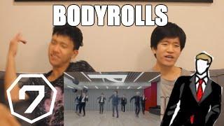 "GOT7 ""Lullaby"" Dance Practice (Suit Ver.) REACTION [THAT BODYROLL!!!]"