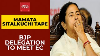 BJP Panel To Meet Election Commission Today Over Mamata Banerjee's Sitalkuchi Tape | Breaking News