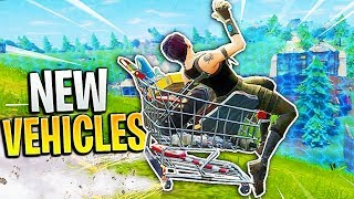 Vehicle's Are Coming to Fortnite Battle Royale...