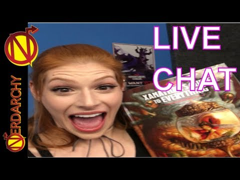 Talking D&D, Streaming, and Entertainment with dreamwisp Nerdarchy Live Chat #171