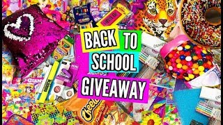 HUGE Back To School Supplies Haul + GIVEAWAY! (with Secret Twist!)