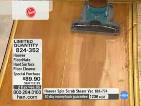 hoover floormate hard surface floor cleaner - item: 824-352 - youtube
