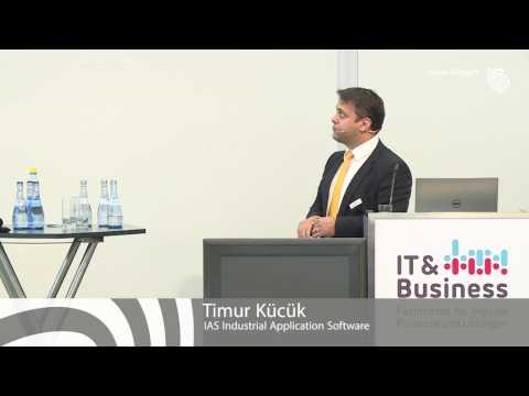Präsentation caniasERP beim ERP Live-Vergleich IT&B