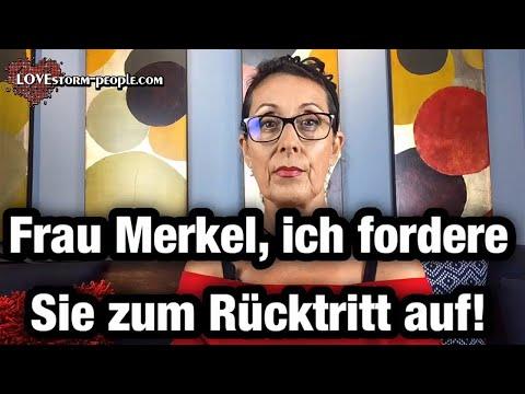 Frau Merkel, ich fordere Sie zum Rücktritt auf! Die Einschränkungen stehen in keinem Verhältnis!