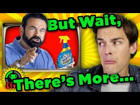 GTLive: TO BUY or NOT TO BUY?   MatPat REACTS to Infomercials! - GTLive: TO BUY or NOT TO BUY?   MatPat REACTS to Infomercials!