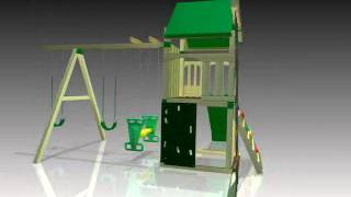 Ultimate Creekside No-cut Play Set 360 Degree View