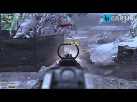 Modern Warfare 3 - Multiplayer Drop Zone Gameplay on Outpost [HD,PC]