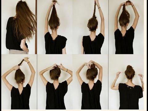 Как сделать кульку из волос