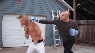 Случайно вырубил фаната / Бойцы UFC избивают людей