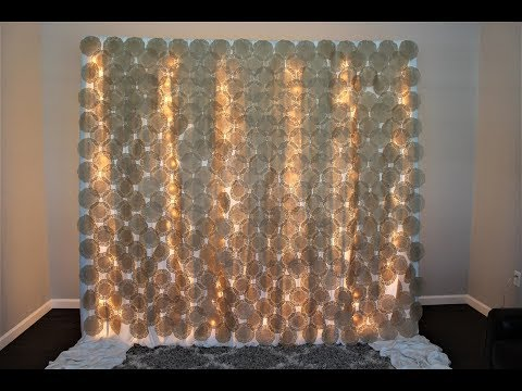 Paper Doilies Backdrop DIY | How To