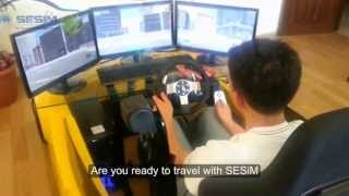 SESiM Driver Training Simulator Ankara Model