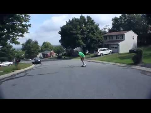 Longboarding: 2 Runs with Austin Priester