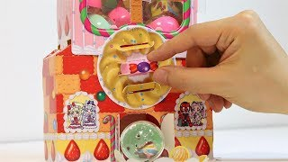 PreCure Candy House Capsule Toy Machine DIY Paper Craft