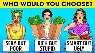 11 UNUSUAL RIDDLES AND PERSONALITY TESTS TO TURN ON YOUR BRAIN