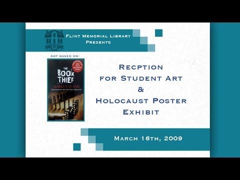 Flint Memorial Library Student Art Exhibit - 3/16/09