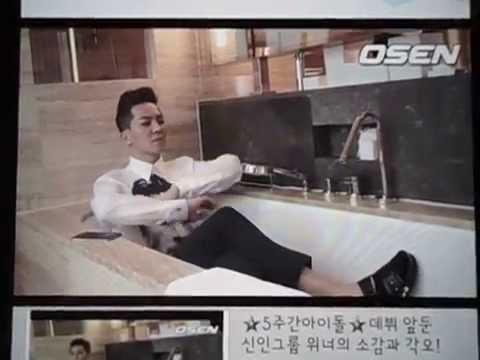 140811 5주간아이돌 데뷔 앞둔 신인그룹 위너의 소감과 각오!