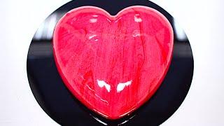 Кофейный Муссовый Торт Сердце / Coffee Mousse Heart Cake