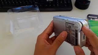 Mở hộp chiếc Radio Panasonic RF-P150