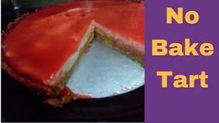 No Bake Tart  Cranberry Mango Tart