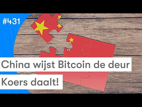 China Stuurt Bitcoin Miners Weg   Koers Daalt Hard   BTC Nieuws Vandaag   #431