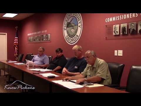 Pickens County Airport Authority August 2017