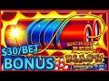 HIGH LIMIT SUPERLOCK Lock It Link Eureka Reel Blast 🧨$30 Max Bet Bonus Slot Machine Casino