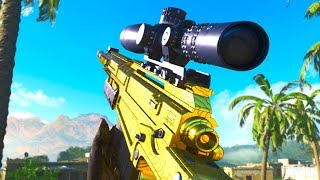SNIPER AX-50 EN OR sur Call of Duty: MODERN WARFARE !