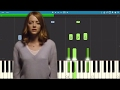 How To Play Audition On Piano La La Land Piano Tutorial The Fools Who Dream mp3