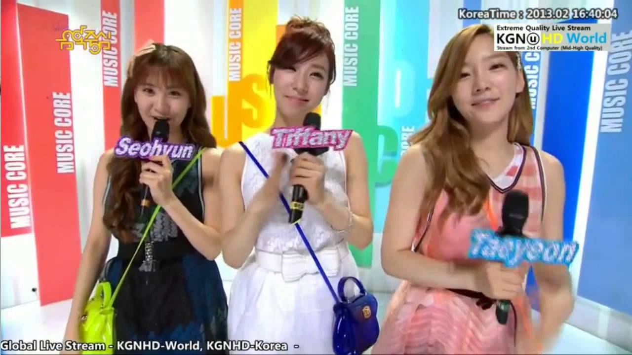 Music Core Mc Cut 5 Taetiseo 2 2 13 Hd Youtube