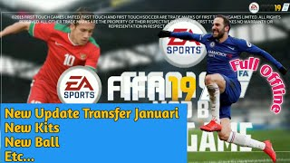 Fts Mod Fifa 2019 | New Transfer Update | Mod by Gila Game | Android Game Sport Offline